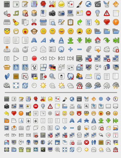 Tango Library Icons