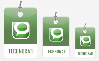 Technorati Social Bookmarking Icons