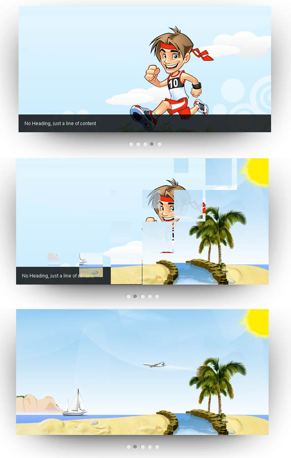 AviaSlider jQuery Slider Preview
