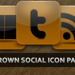 Free Download Brown Social Icon Pack