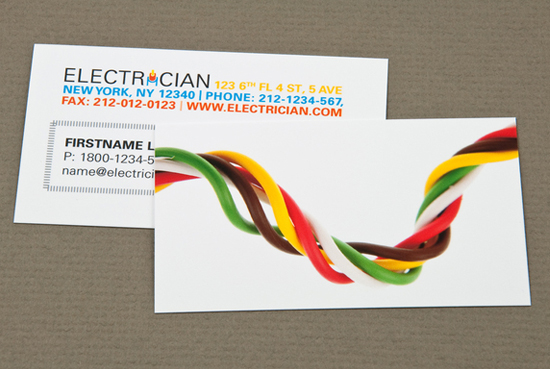 50 creative and beautiful business cards design for inspiration 50 creative and beautiful business cards design for inspiration by electrician reheart Images