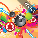 Post thumbnail of 25 Colorful Vector Background Graphic Designs