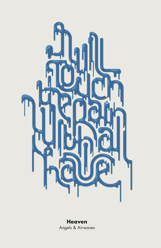 25 Creative Fonts Typography Designs for Design Inspiration