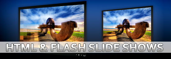 HTML SlideshowBox Flash and Photo Galleries with Javascript