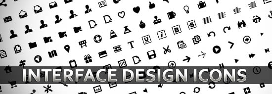 300 Free Interface Design Vector Icons and Vector Elements