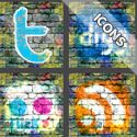 Post Thumbnail of 25 Fresh and Creative Design Social Networking Icon Sets