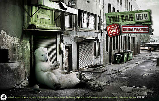 65+ Most Creative WWF Global Climate Change ADs