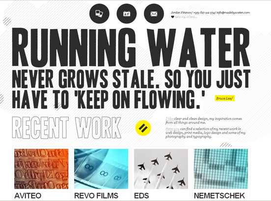 35 Fresh CSS Based Websites Designs Showcase for Inspiration