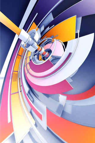 Trendwhore Twirl iPhone Wallpaper