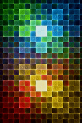 Colorful Squares iPhone Wallpaper