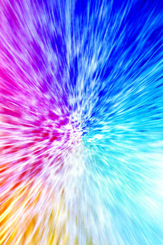 Color Blast iPhone Wallpaper