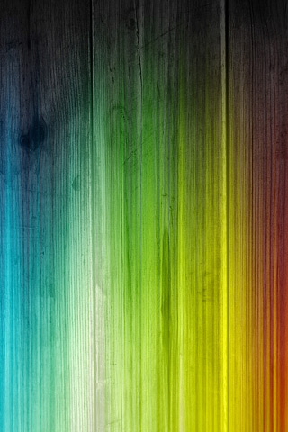 Rainbow Stained Wood