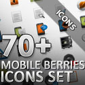 Post thumbnail of Download Free 70+ Mobile Berries Icons Set