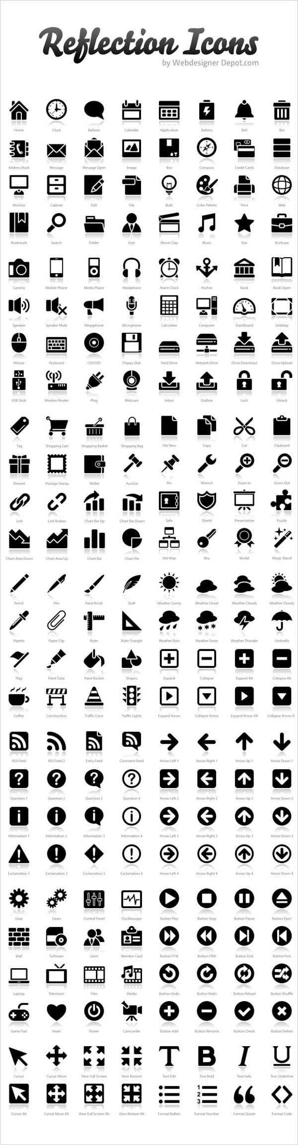 200+ Free Exclusive Reflection Icons