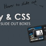 Related Posts Slide Out Boxes Menu with jQuery and CSS3