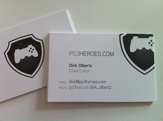 ps3heroes business cards - Quality Business Cards