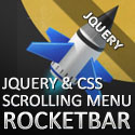 "Post thumbnail of RocketBar jQuery And CSS3 ""Stay On Top"" Navigation Menu – Free Download"