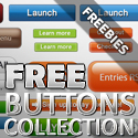 Post thumbnail of Download Free PSD Web Button Collection
