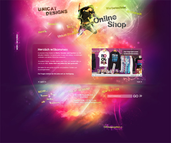 30+ Amazing Web Design Interface From deviantArt in November 2010