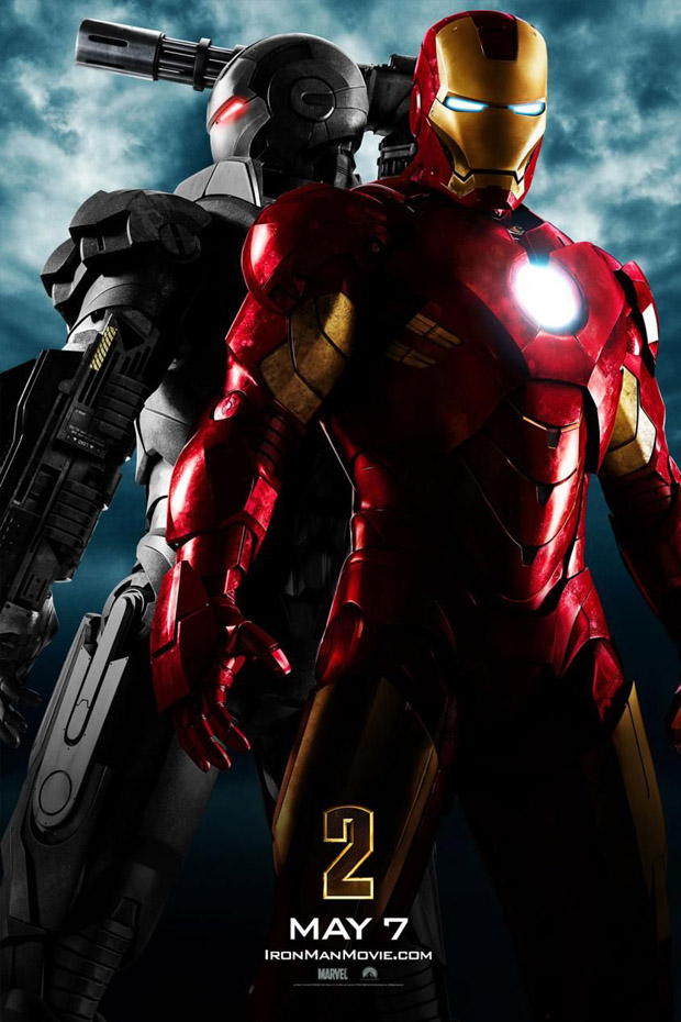 Iron-Man-2 - 50+ Best Movie Posters of 2010 and 2011 - Movies Poster Showcase
