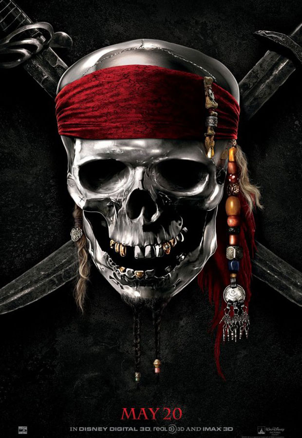 Pirates-of-the-Caribbean-On-Stranger-Tides - 50+ Best Movie Posters of 2010 and 2011 - Movies Poster Showcase