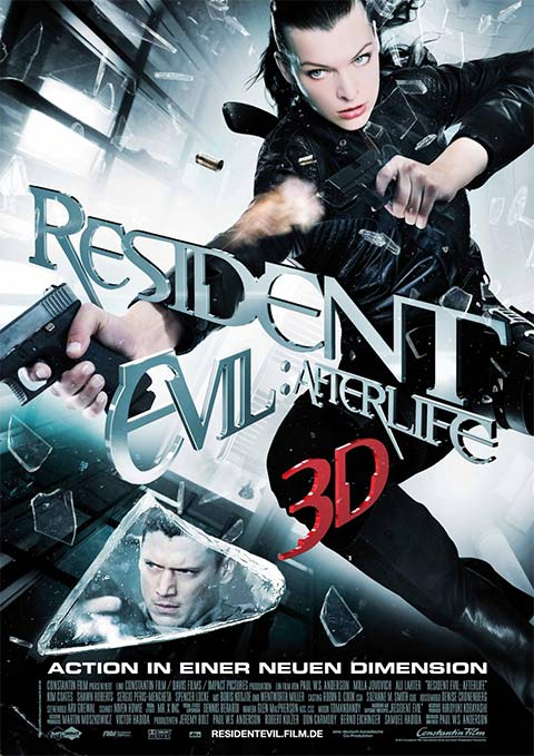 Resident Evil: Afterlife - 50+ Best Movie Posters of 2010 and 2011 - Movies Poster Showcase