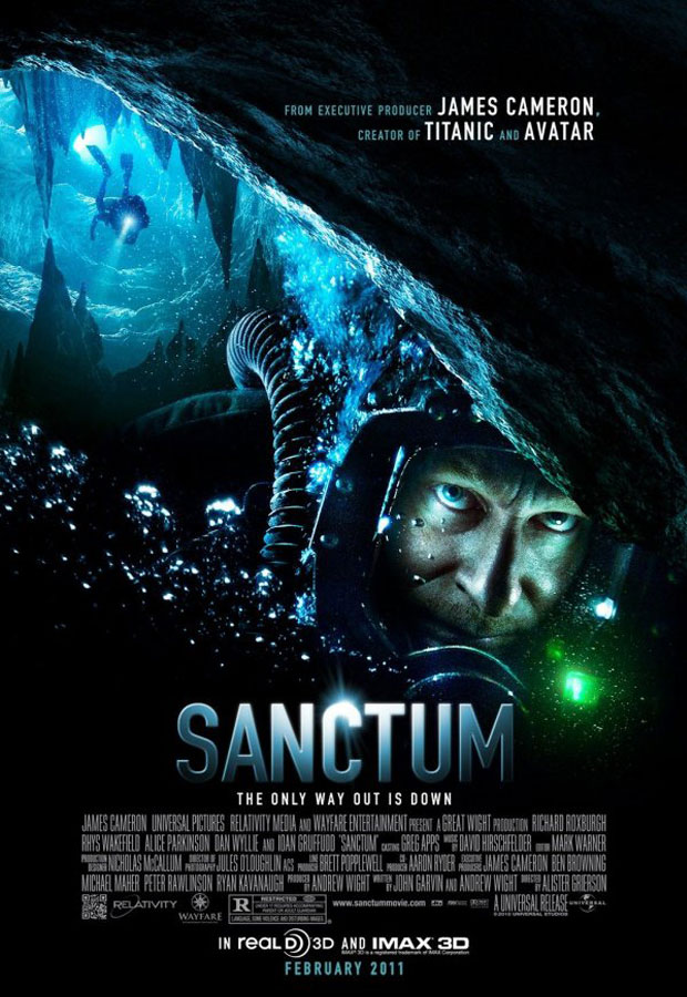 Sanctum - 50+ Best Movie Posters of 2010 and 2011 - Movies Poster Showcase