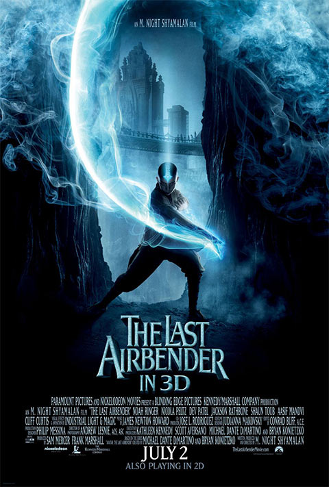 The Last Airbender - 50+ Best Movie Posters of 2010 and 2011 - Movies Poster Showcase