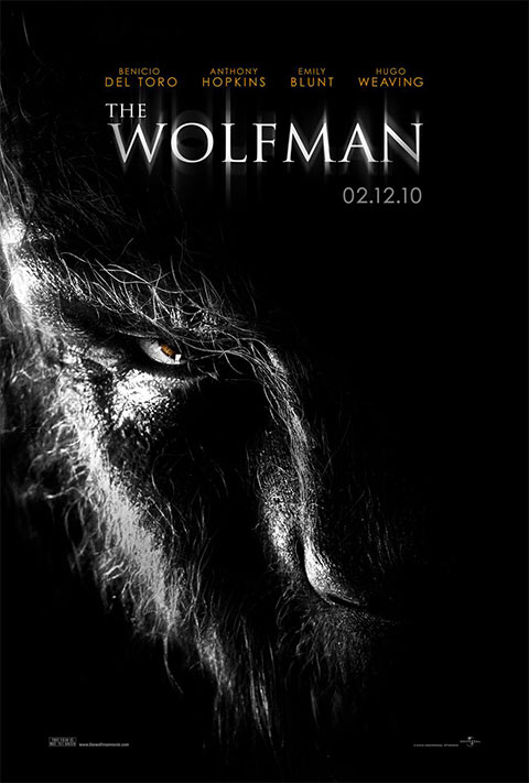The Wolfman - 50+ Best Movie Posters of 2010 and 2011 - Movies Poster Showcase