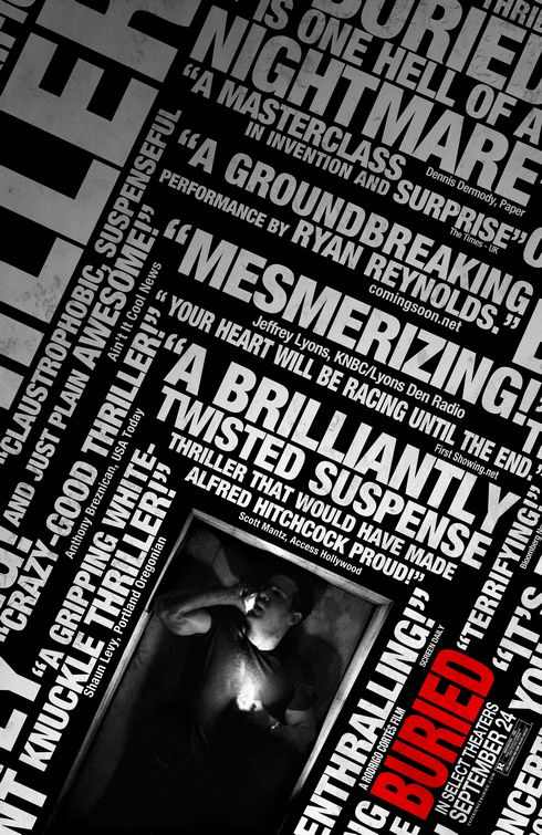 buried-movie-poster - 50+ Best Movie Posters of 2010 and 2011 - Movies Poster Showcase