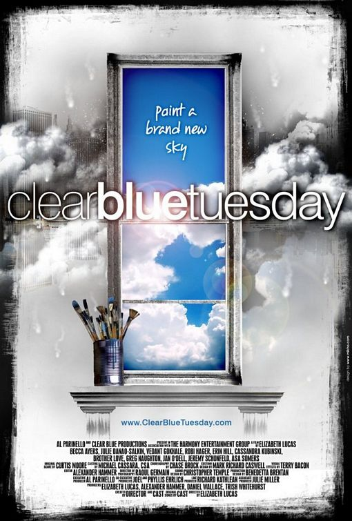 Clear Blue Tuesday - 50+ Best Movie Posters of 2010 and 2011 - Movies Poster Showcase