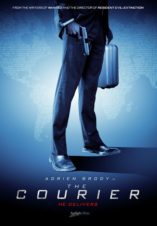 courier - 50+ Best Movie Posters of 2010 and 2011 - Movies Poster Showcase