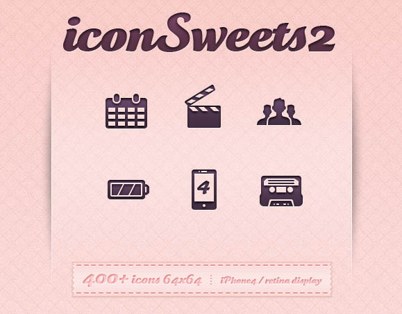 Vector Icons: iconSweets2
