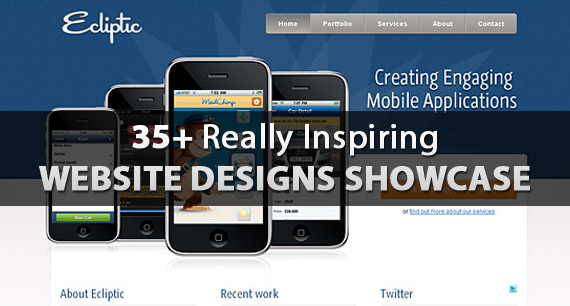 35 Creative Websites Showcase for Design Inspiration