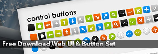 Free Download Web UI & Button Set