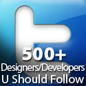 500+ Designers & Developers You Should Follow On Twitter