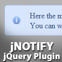 Post Thumbnail of jNotify: jQuery Plugin Display Animated Error and Info Boxes