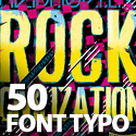 Post thumbnail of Font Typography: 50 Brilliant Typography Designs To Inspire You