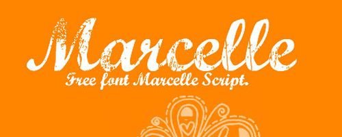 Marcelle Free Font