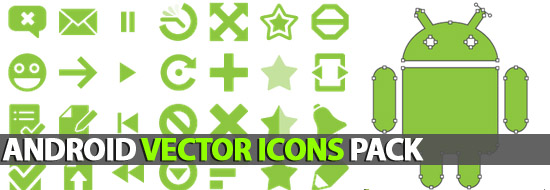 Post Thumbnail of Android Vector Icons Pack (AI, EPS, SVG)