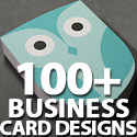 Post Thumbnail of Creative Business Card Designs: 100+ Business Card Design Inspiration