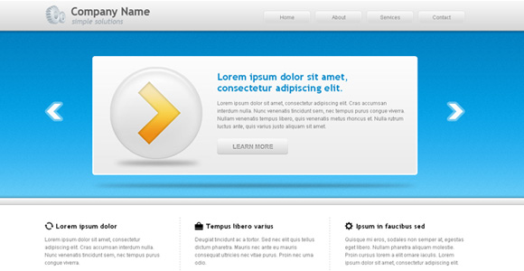 22 Free HTML5/CSS3 Business Website Templates