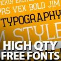Post Thumbnail of Free Fonts: 18 New High Quality Fonts