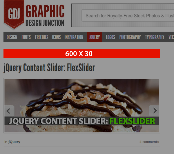 Before Post Title - Advertising 600 x 30