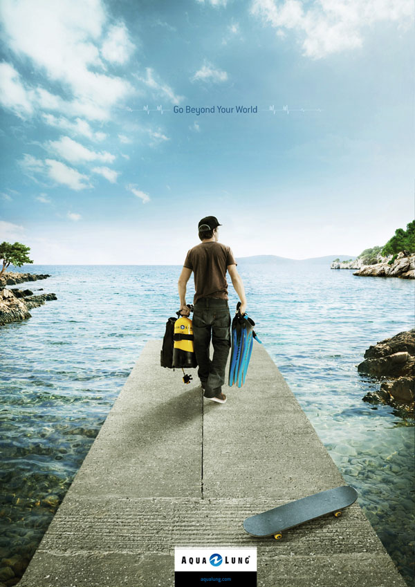 Creative Ads 50 Eye Catching Advertising Posters For Inspiration