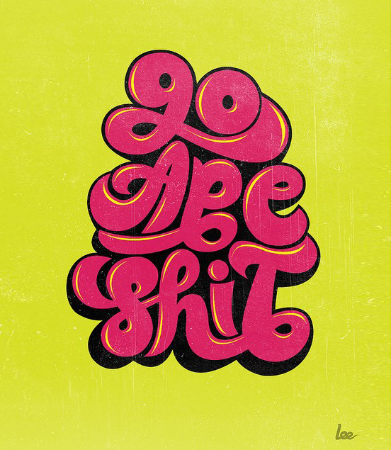 60 Awesome Font Typography Designs