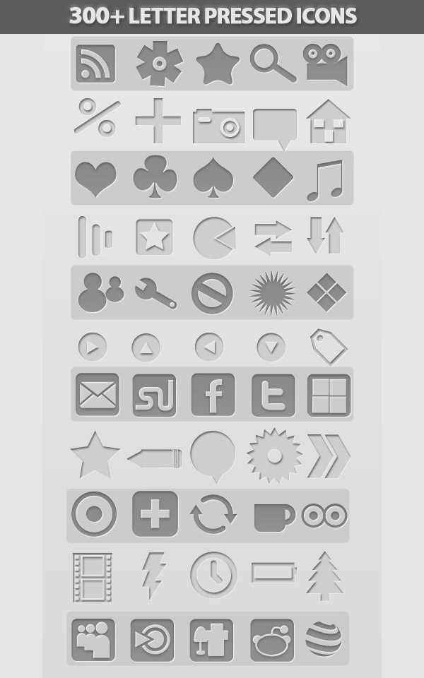 Free Icons Set: Huge Collection of Icon Sets