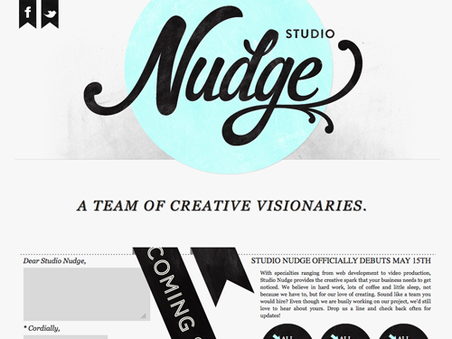 Single Page Websites: 60 Inspiring One Page Website Designs