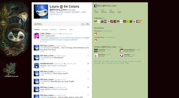 50 Best Twitter Background Designs for Inspiration