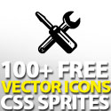 Post Thumbnail of 100+ Free Vector Icons With CSS Sprites :Plastique Icons Set